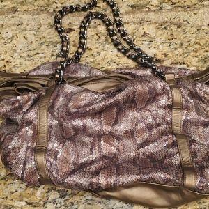 Express Shoulder Sequined Bag